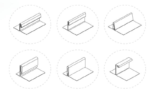 Tipos de lámina compatible